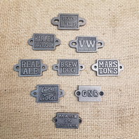 Small Metal Plaques